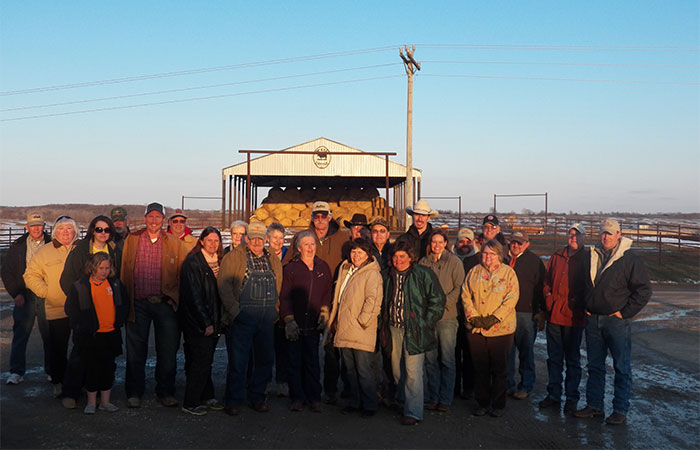 Arkansas Beef Producers visit McBee Cattle Co in Fayette, MO