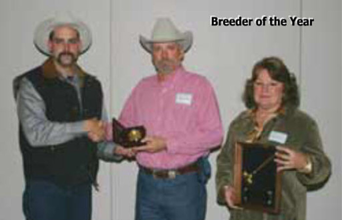 Ron McBee Braunvieh Association of American 2004 Breeder of the Year