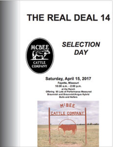 2017 Spring Selection Day Catalog