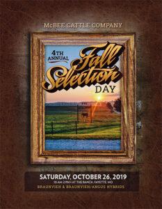 Fall Selection Day 2019 Catalog Image
